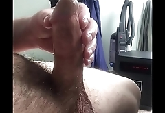First time sound insertion deep into penis with orgasm