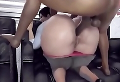 Fucking Gigantic Ass in Public Anal Sex.