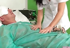 Oral With the Sexy Slutty Nurse