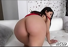 Wild cunt needs you to touch her juicy big buns