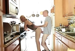 Fucking In the kitchen