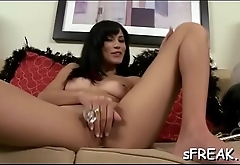 Moist pornstar toys her snatch to rapturous delights
