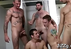 Chaps are in for a kinky gay play in a serious anal dream