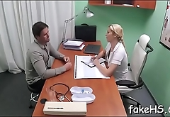 Wicked doctor craves to play some wicked games in fake hospital