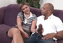 Daughter fucks big thick black dick