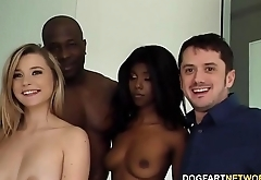 Daizy Cooper &amp_ Carolina Sweets Interracial - Cuckold Sessions