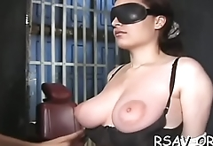 Incredible bdsm act with breathtaking babe getting mistreated