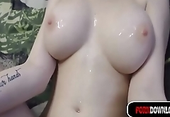 PORNDOWNLOAD.CLUB -- HUGE TITS ON SKINNY YOUNG GIRLFRIEND
