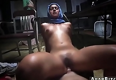 Arab belly dance sex and big cock Sneaking in the Base!