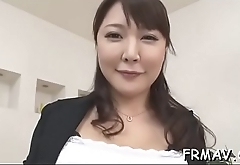 Pretty japanese delights with mindless wang sucking