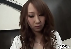 Lovely asian enjoys lusty vagina shaving previous to rough anal sex