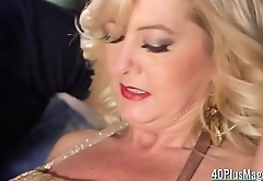 Cocked Dudes Banged a Mature Hooker