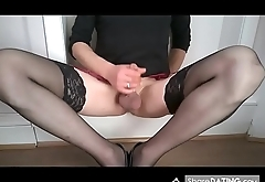 My wife filmed me while wanking