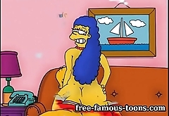 Marge Simpson milf hentai sex