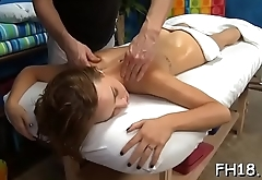 Sexy sizzling gets a pussy massage then fucked hard!