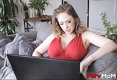 Sexy Big Tits And Big Ass MILF Stepmom Can'_t Stop Fucking Her Stepson