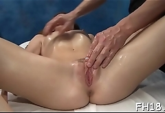 Cute 18 year old oriental beauty gets fucked hard by her massage therapist