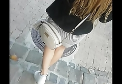Hot ass in public