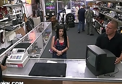 XXXPAWN - Fiery Cuban Chick Yells In Spanish, Gets Fucked By Big Dick Sean Lawless