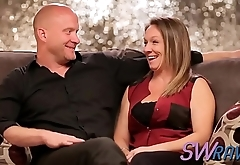 Mature couple has the most delicious sex ever at the swing house