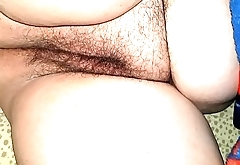 playing with my sleeping hot milf wife'_s pussy