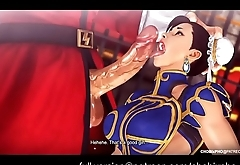 STREET FIGHTER / CHUN-LI (TRAINING OUTFIT) FUCKED BY M.BISON [SFM]