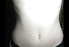 My natural beauty girlfriend plays with her perfect tits for YOU!