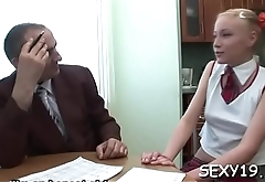 Young hotty is being ravished by a lusty mature guy