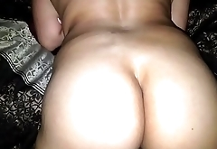 Man let me fuck his Mexican wife raw I came fast