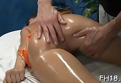 Sexy pretty hot gal gets fucked hard from behind